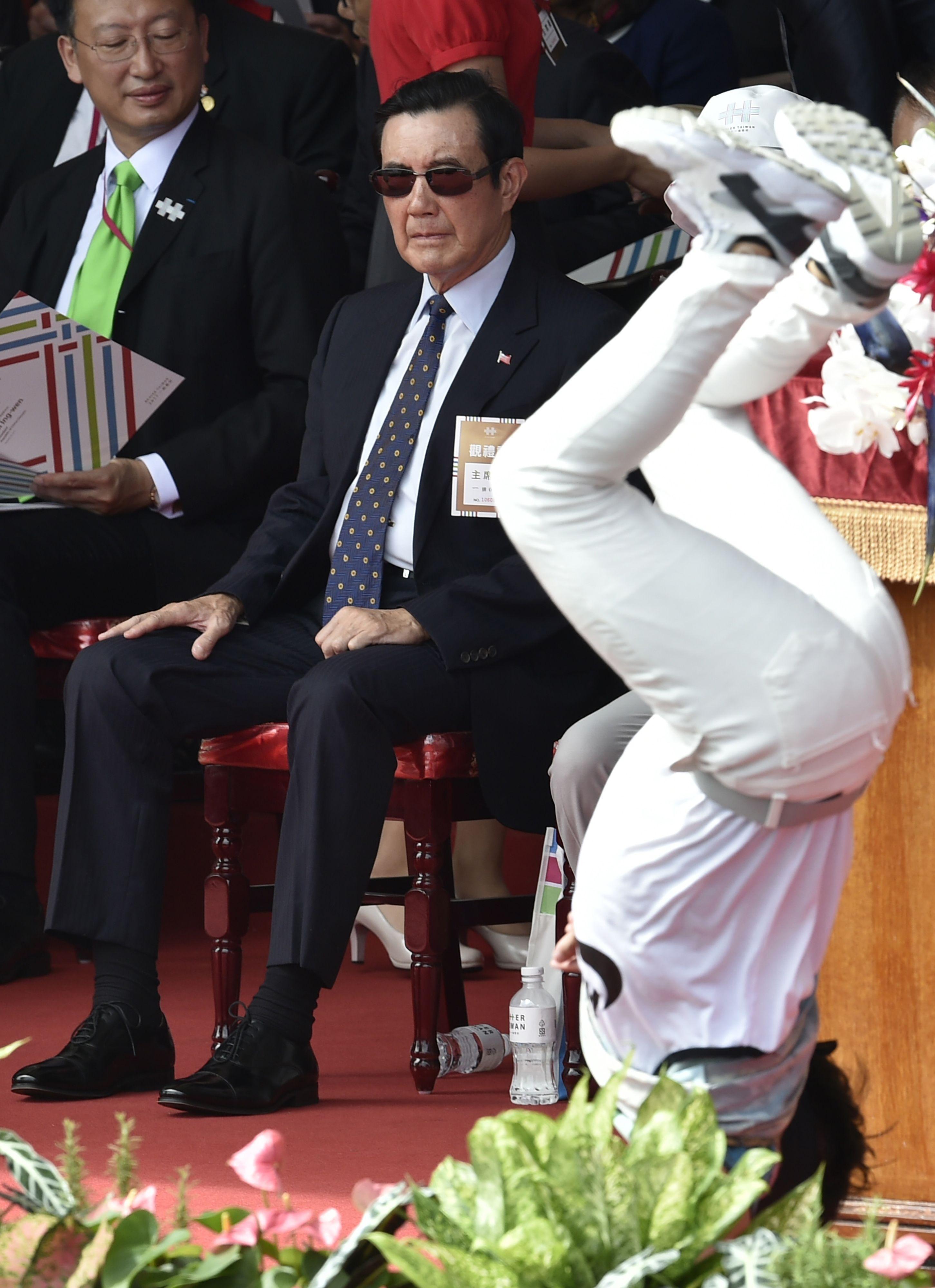 الرئيس التايوانى السابق
