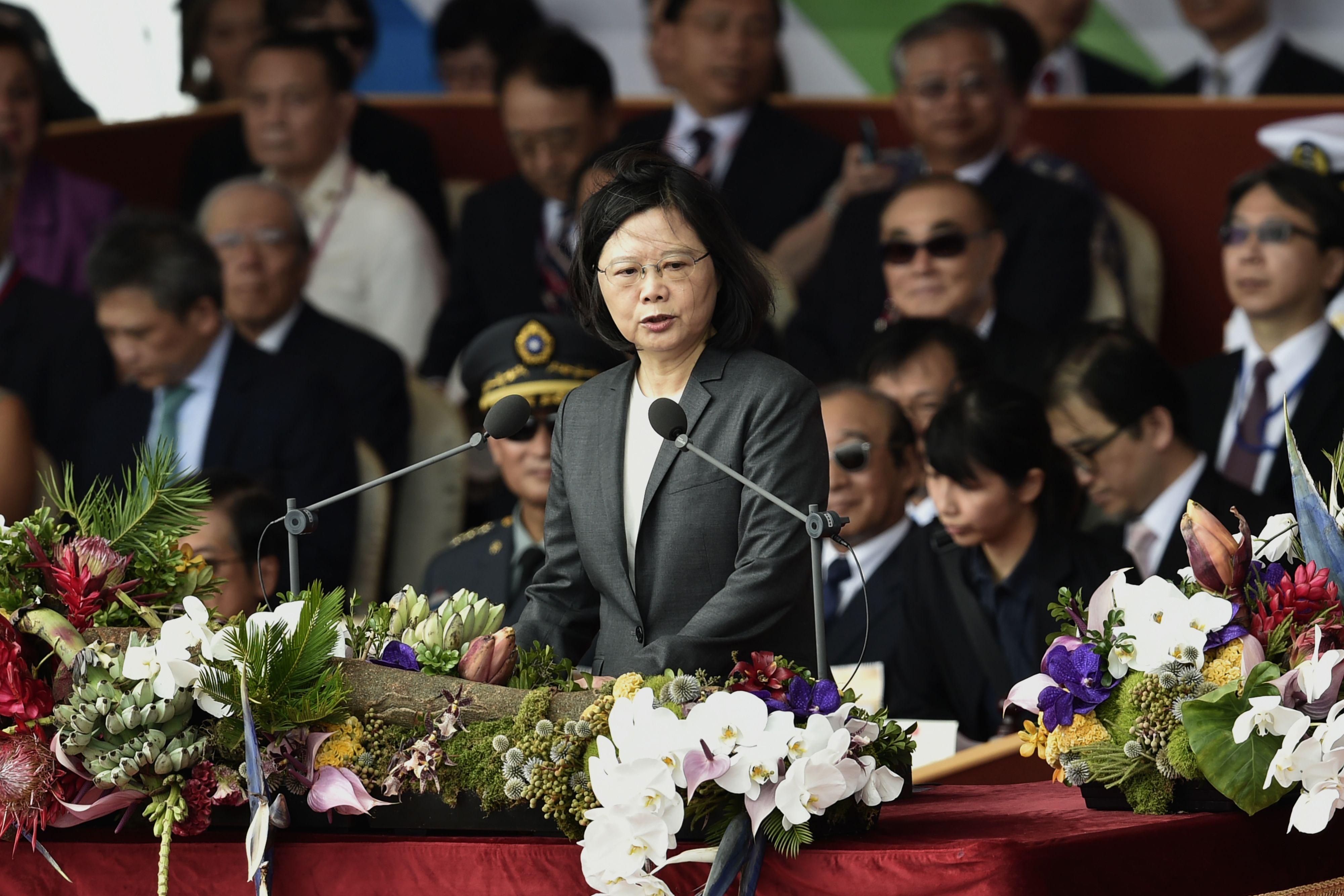 كلمة رئيسة تايوان