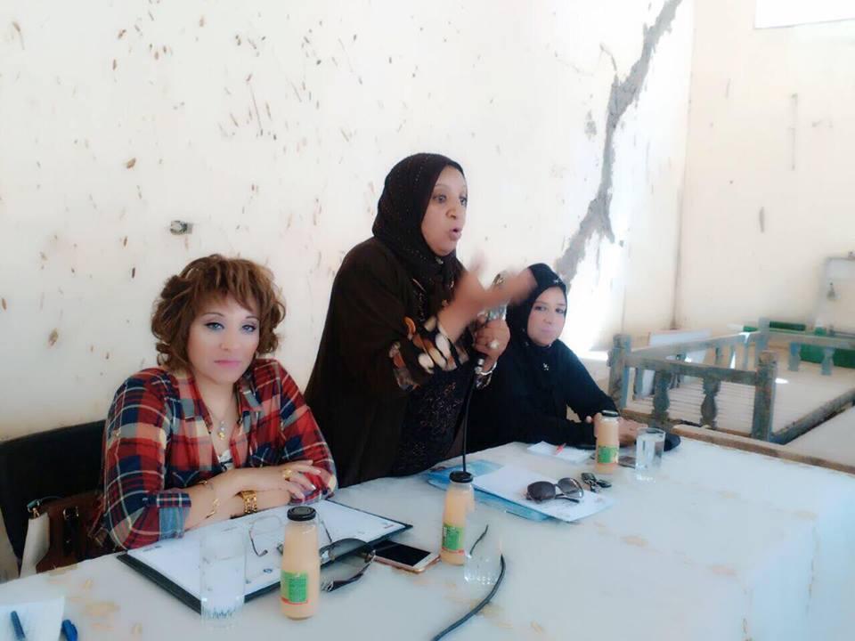 القومي للمرأة بالأقصر يعقد ندوة للتوعية بدعم السياحة  (1)