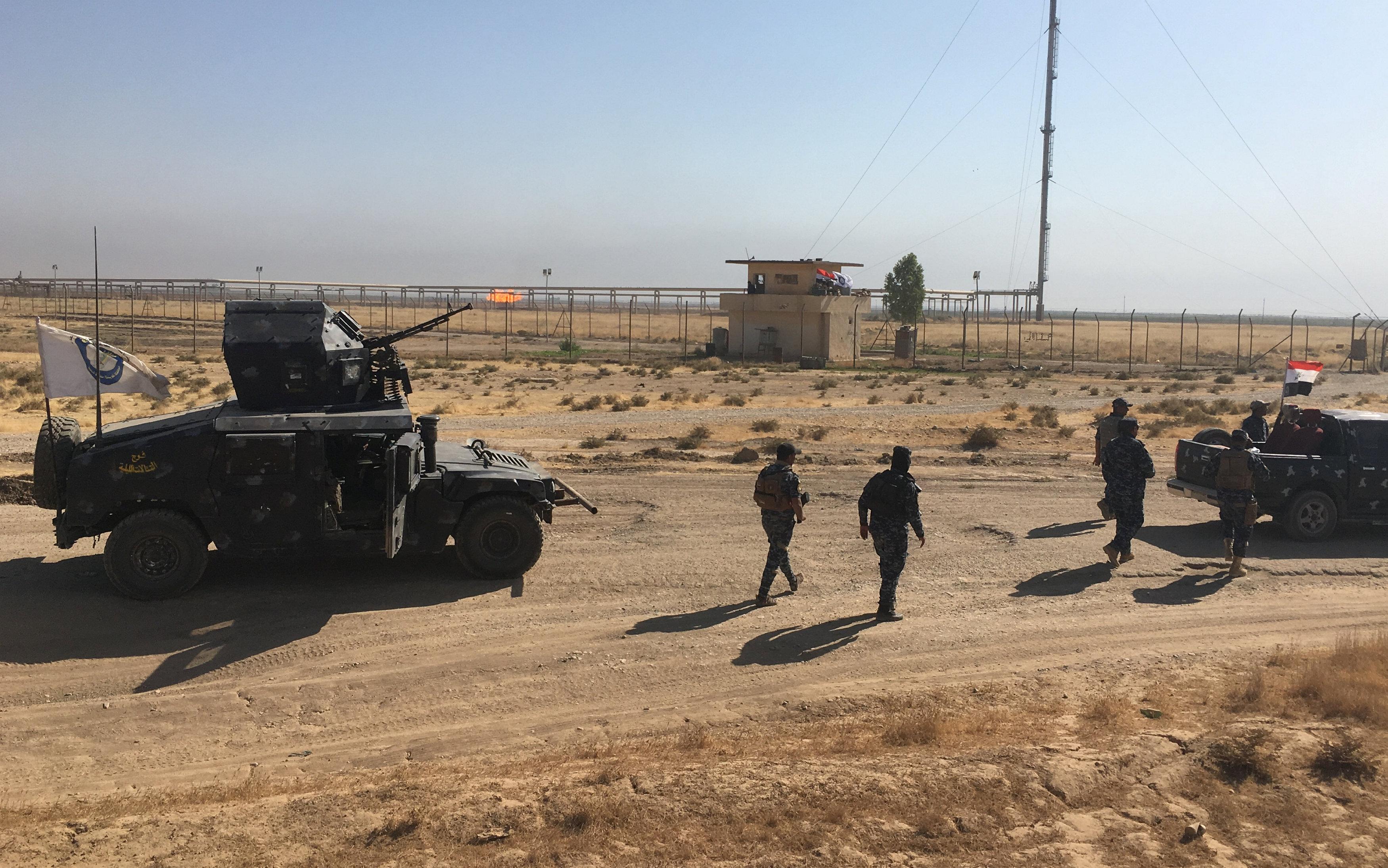 عمليات الجيش العراقى فى كركوك