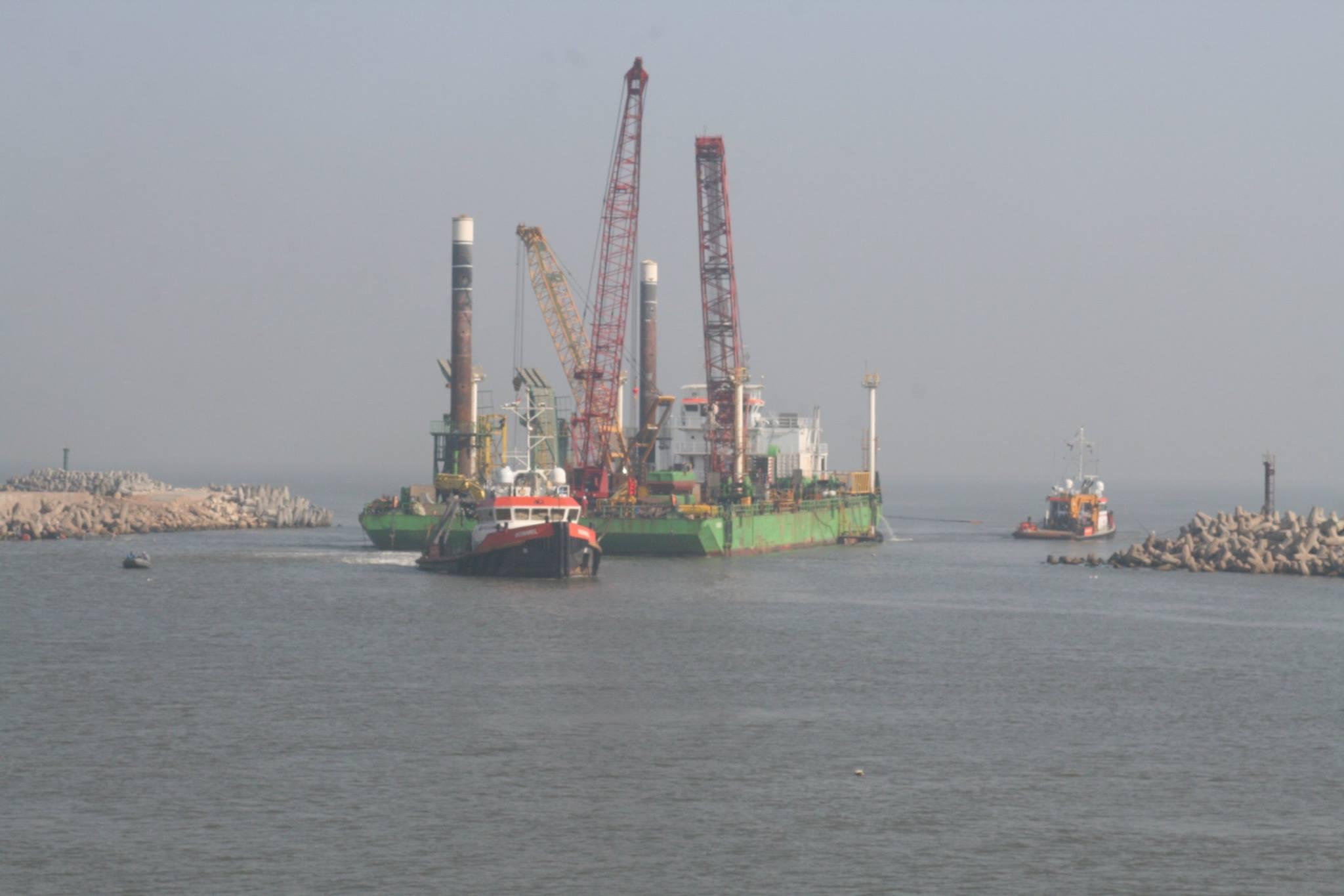 5- ميناء البرلس يستقبل السفن