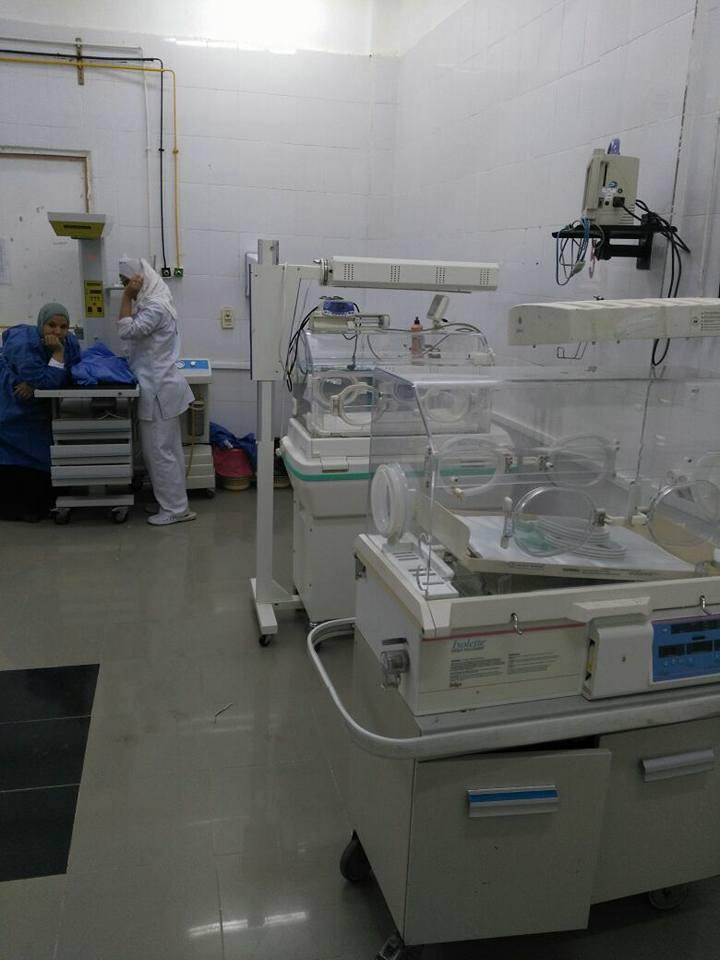 صحة الأقصر تعيد تشغيل حضانات البياضية بمقرها الأساسي  (1)