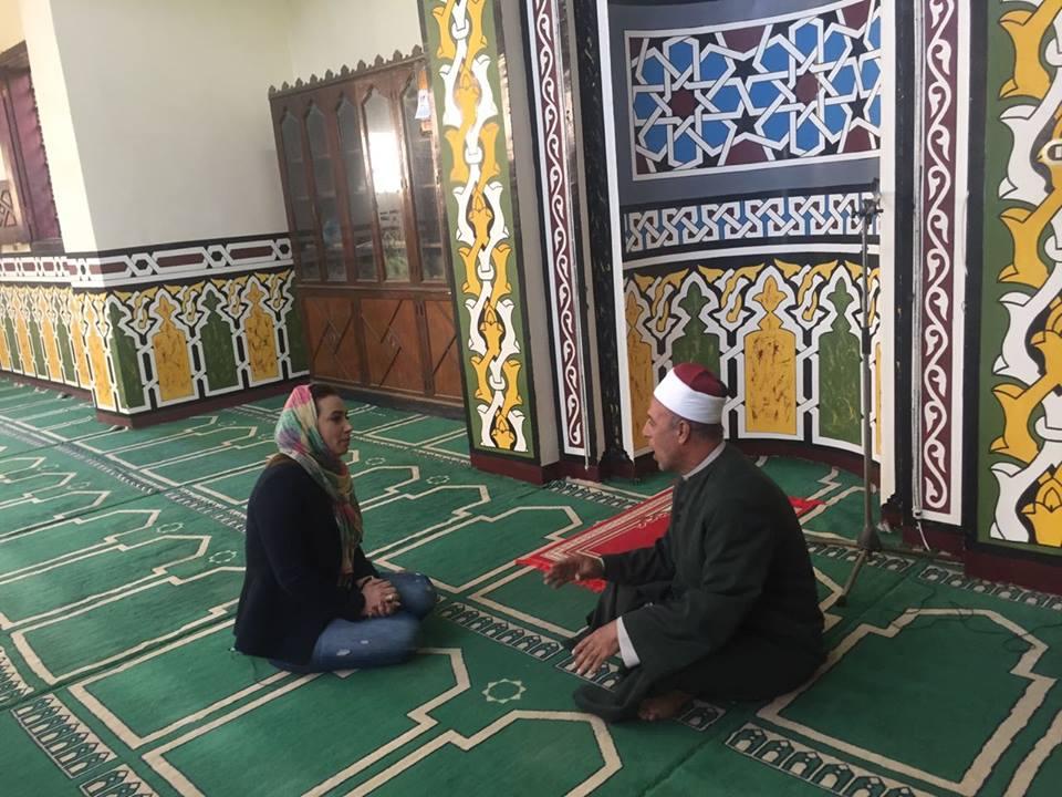 رشا نبيل من داخل قرية السادات (3)