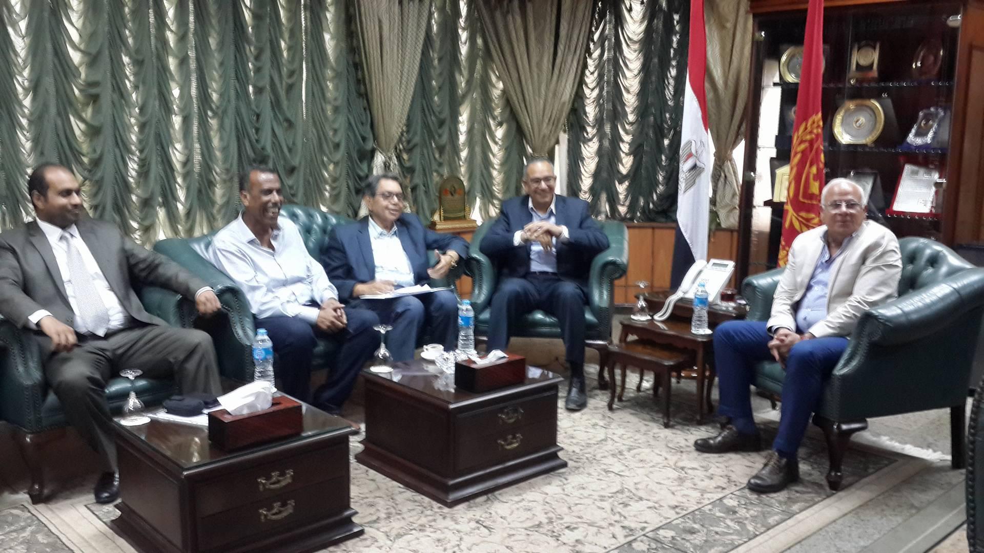 وصول نائب وزير الاسكان لبورسعيد2