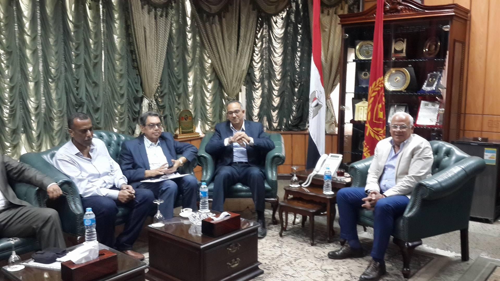 وصول نائب وزير الاسكان لبورسعيد1
