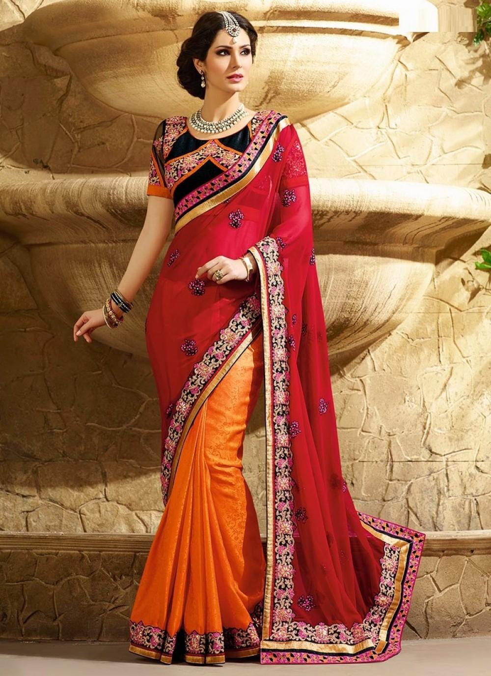 57e75fd686d6f من الساري إلى الدرندل والقفطان.. أشهر الأزياء التقليدية للنساء حول ...