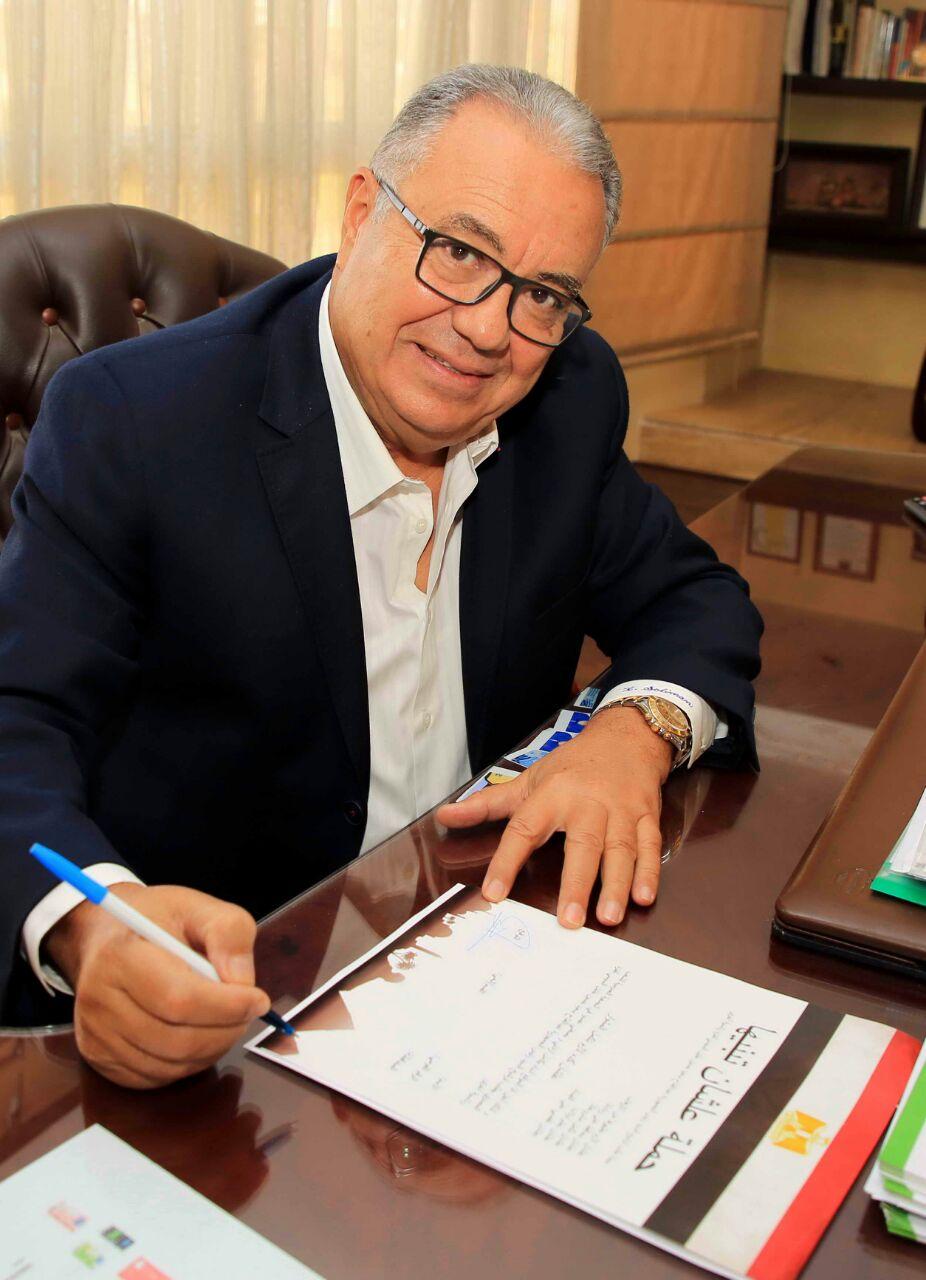 المهندس حمدي سليمان رئيس مجلس إدارة مجموعة بيراميدز