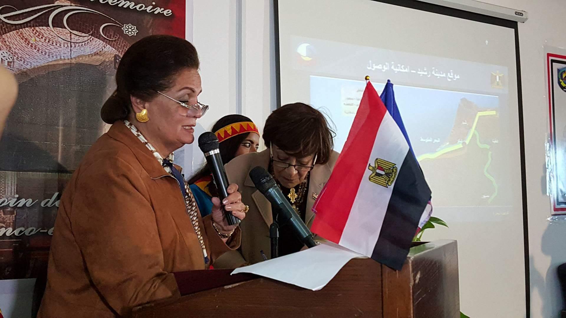 المهندسة نادية عبده محافظ البحيرة (3)