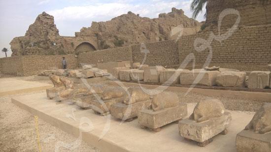 272543-متحف-خارجى-لعرض-أثار-المعبد