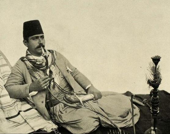 الشيشة في العهد العثماني