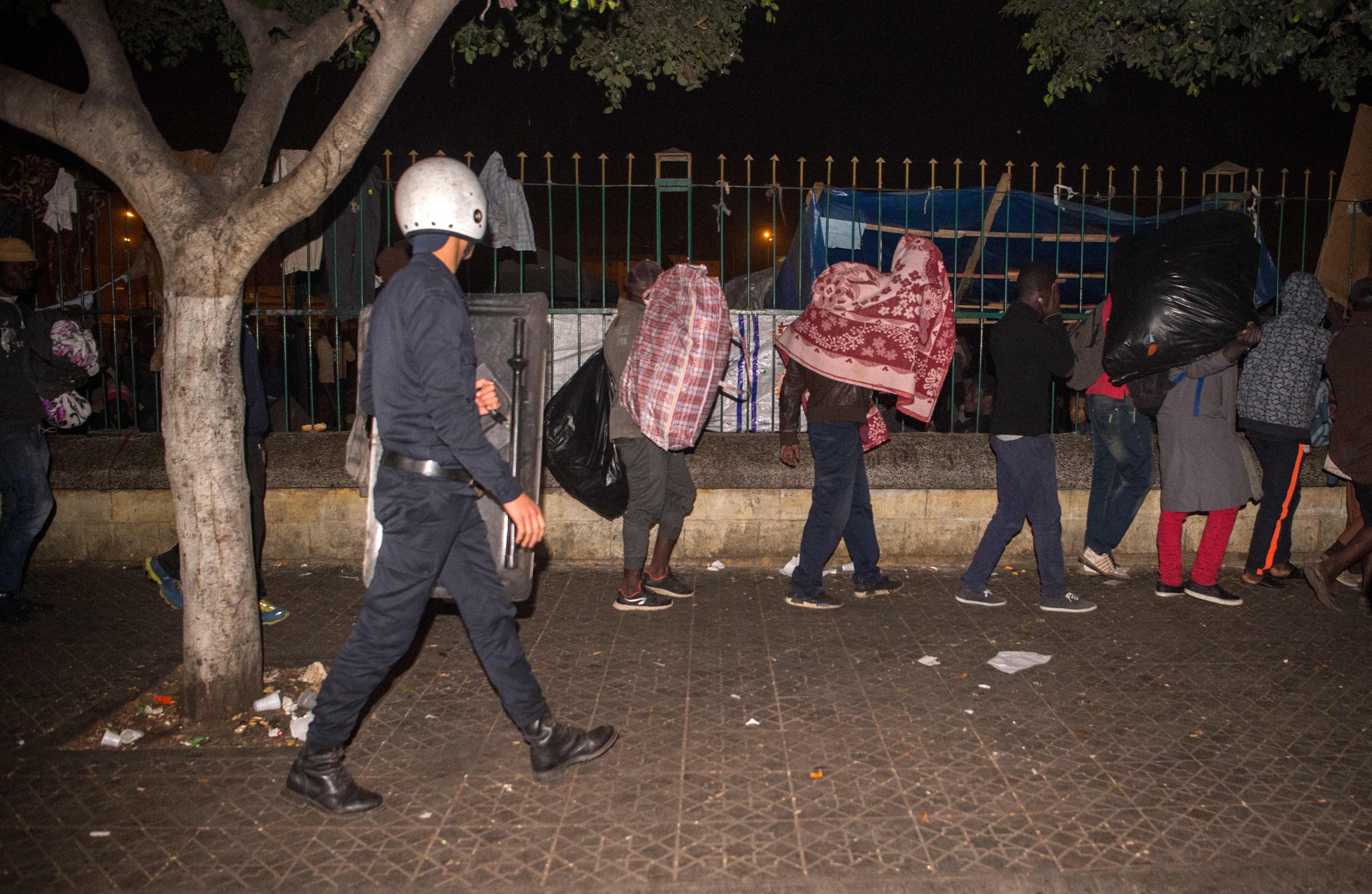 الشرطة المغربية تسيطر على أحداث العنف فى الدار البيضاء
