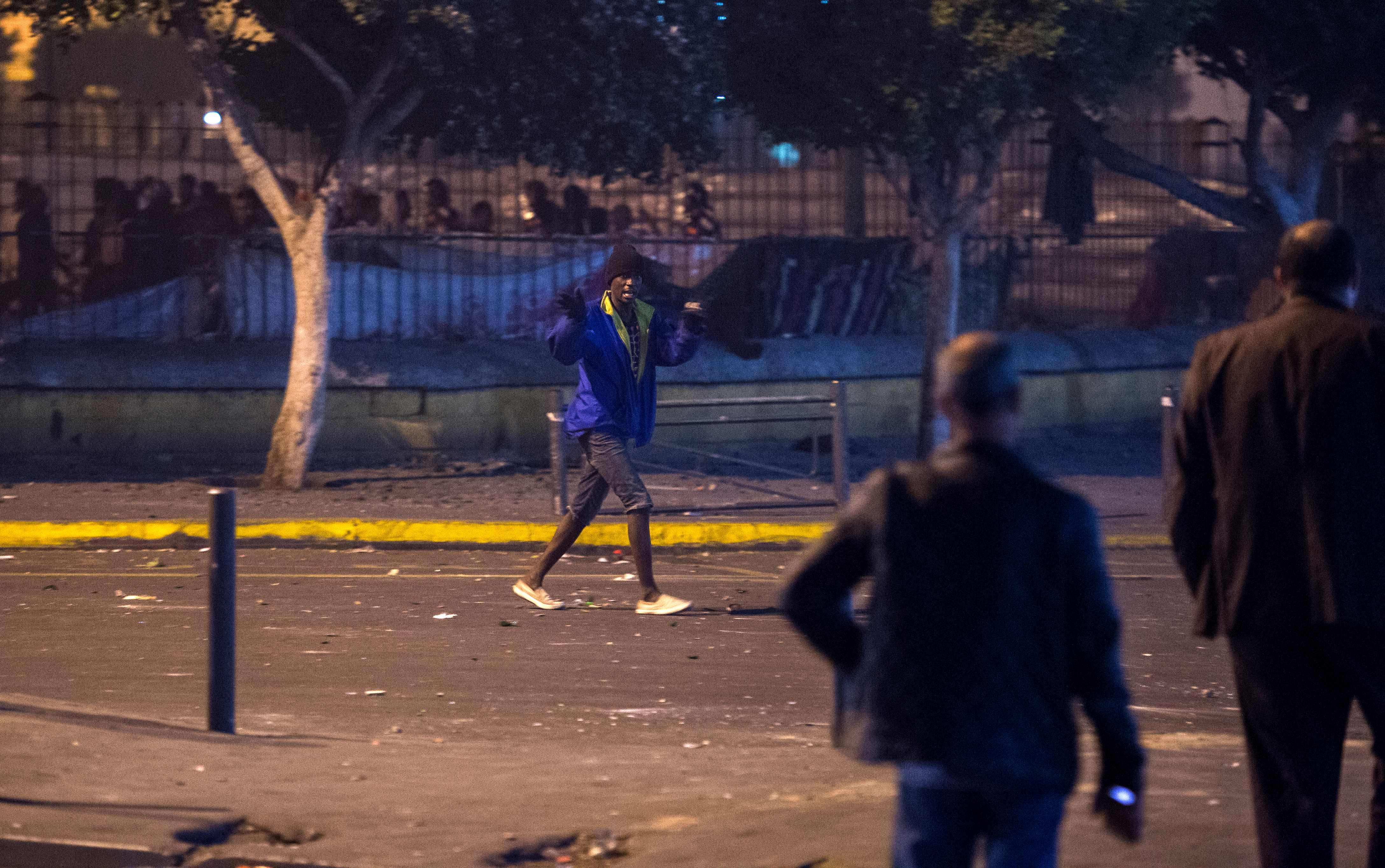 أحداث عنف فى المغرب
