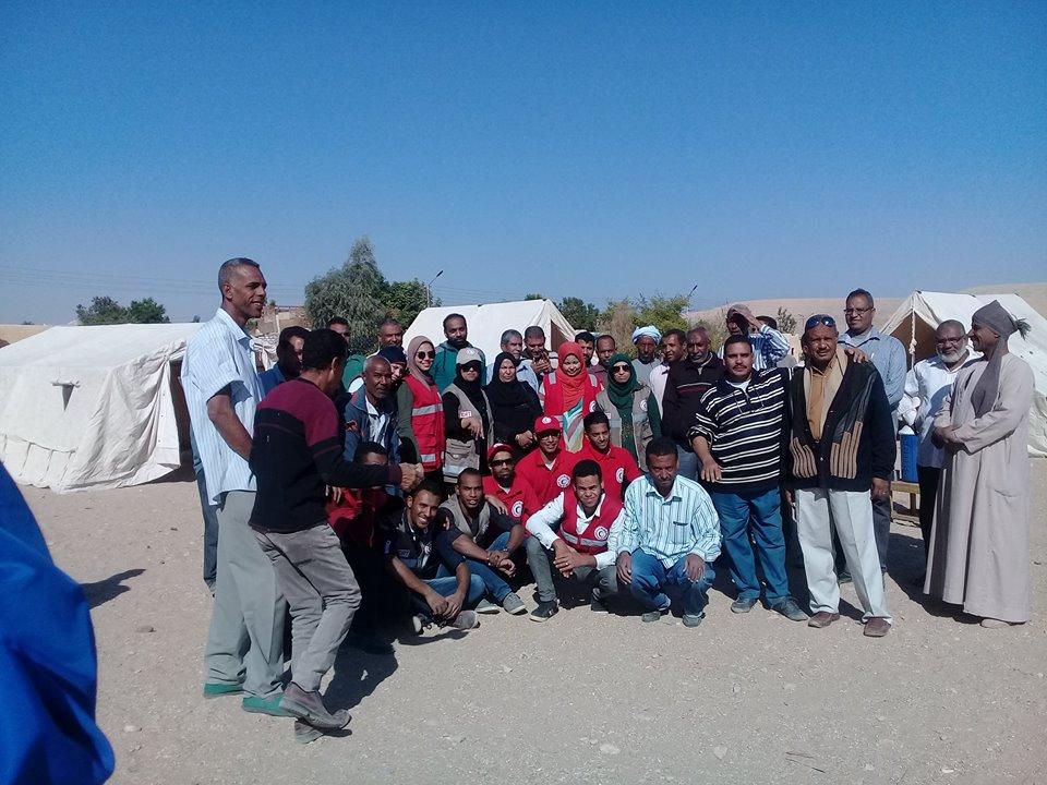 مدينة الطود تنظم معسكر تجريبي لخيام الإيواء إستعداداً للأمطار والسيول (5)