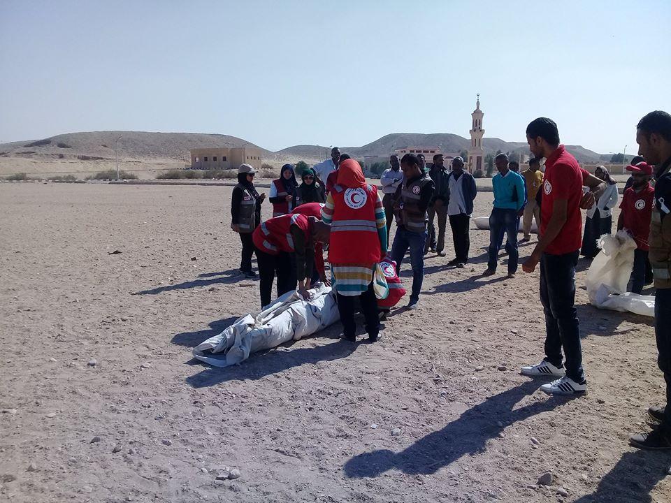 مدينة الطود تنظم معسكر تجريبي لخيام الإيواء إستعداداً للأمطار والسيول (3)