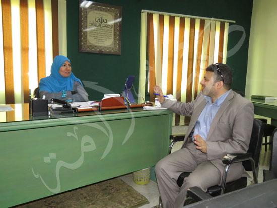 جولة صوت الامة في مركز مراجعة الفواتير (3)