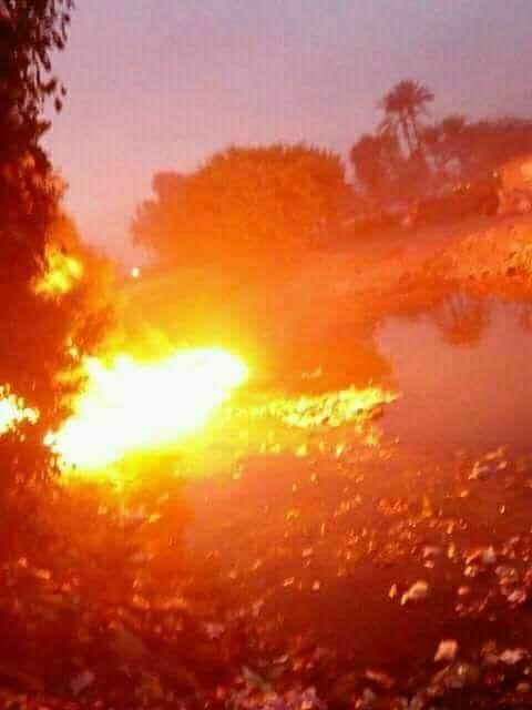 حريق سيارة فنطاس  (2)