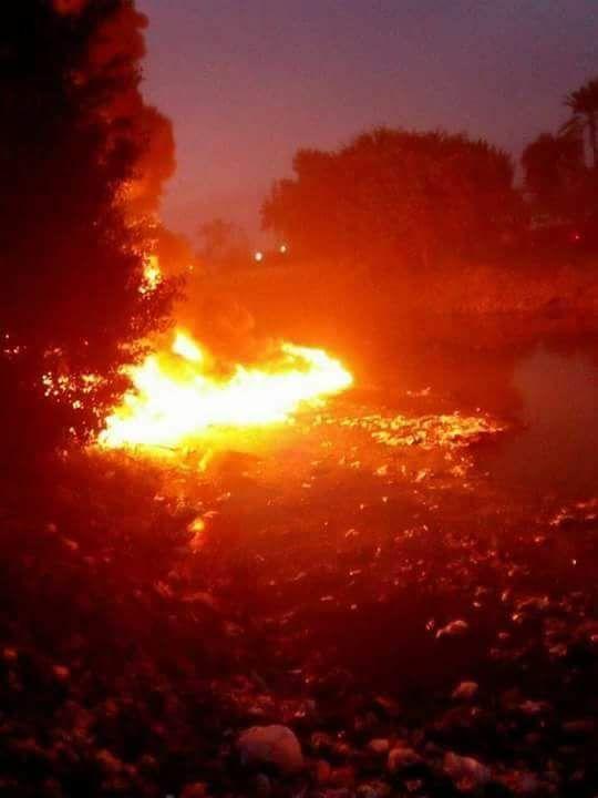 حريق سيارة فنطاس  (4)