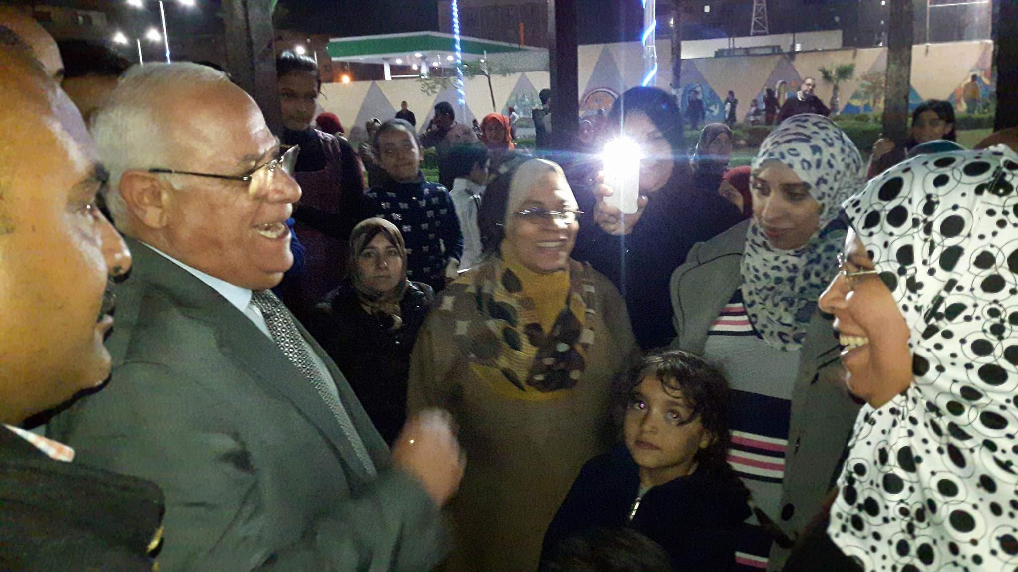 افتتاح النافورة الراقصة ببورسعيد ٢_2