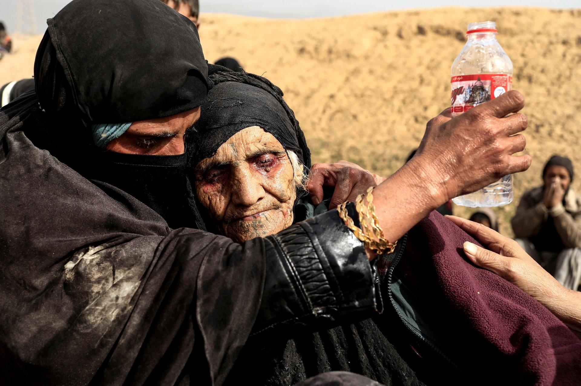 النساء ومعركة داعش داخل العراق