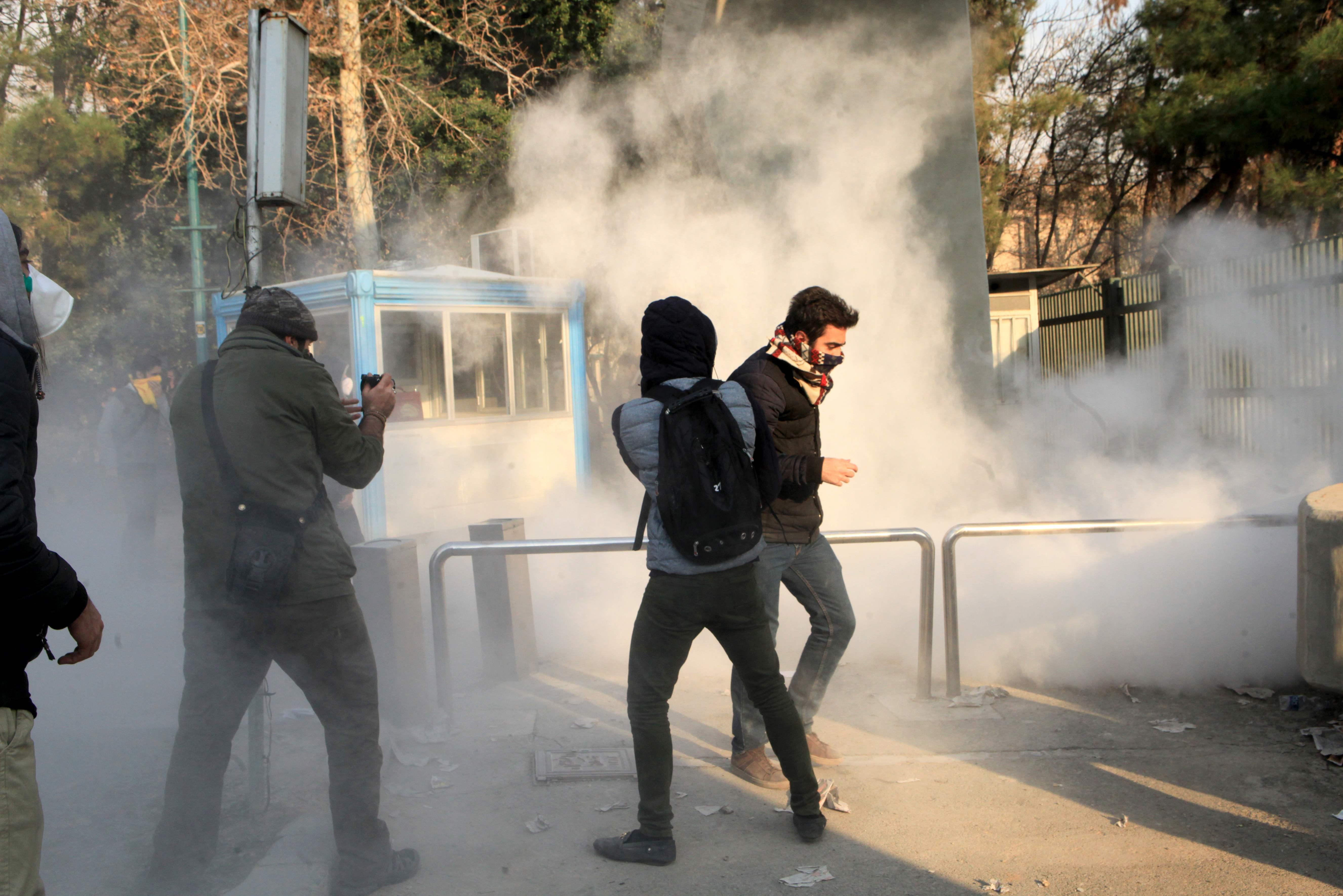 جانب من العنف فى ايران