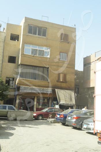 منزل نجيب محفوظ امام قسم الجماليه بميدان بيت القاضي (2)