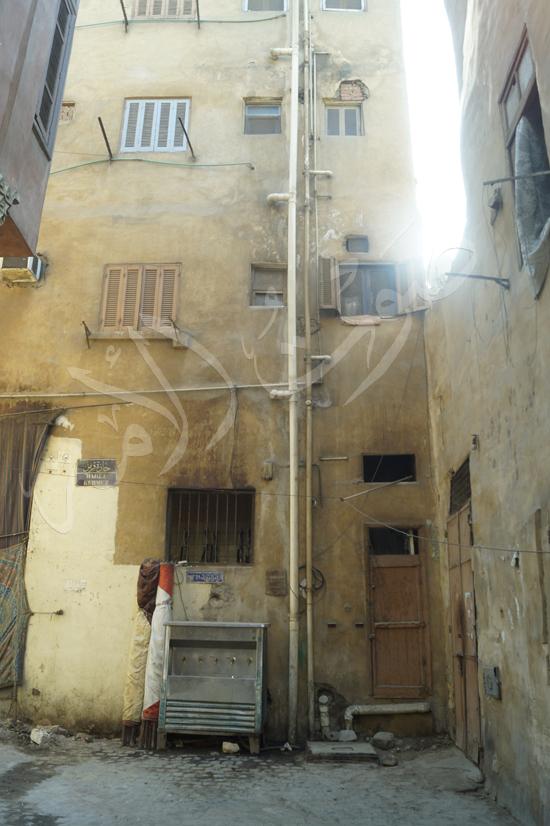 منزل نجيب محفوظ امام قسم الجماليه بميدان بيت القاضي (1)