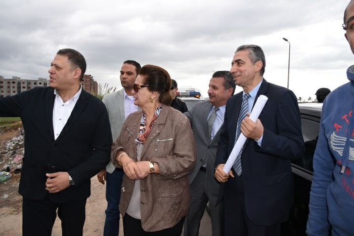 المهندسة نادية عبده محافظ البحيرة  (1)