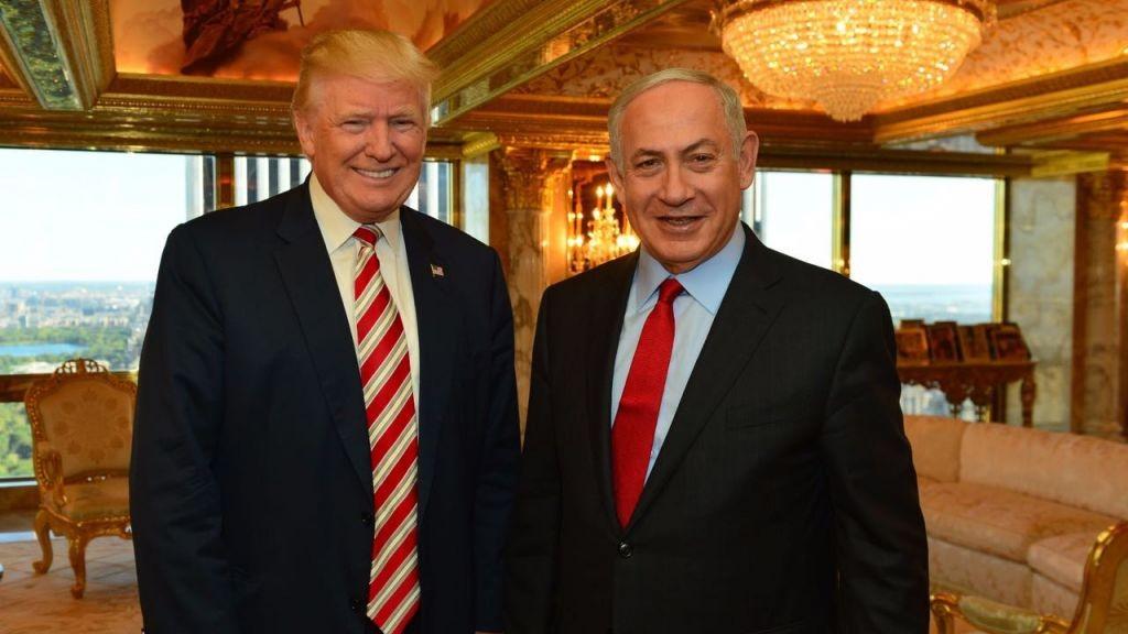 ترامب ورئيس الوزراء الإسرائيلي بينامين نتنياهو.jpg 1