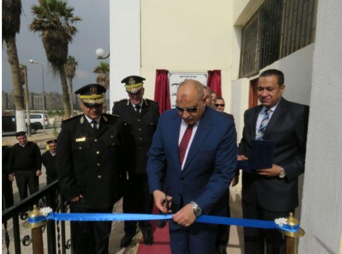إفتتاح مبنى الترحيلات الجديد بمنطقه سجون طره (1)