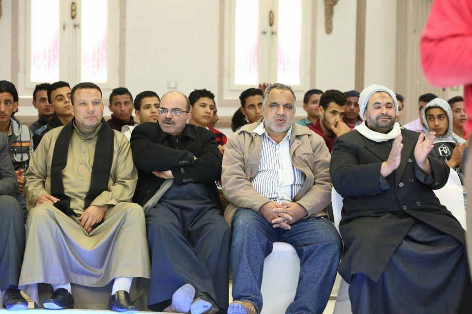 مؤتمر جماهيري حاشد لـ علشان تبنيها في أولاد صقر