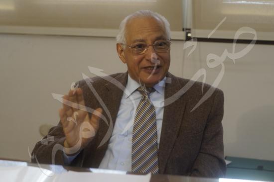 الدكتور على الدين هلال، وزير الشباب الأسبق (8)