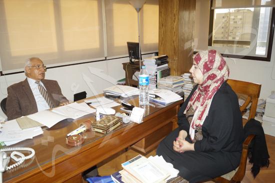 الدكتور على الدين هلال، وزير الشباب الأسبق (18)