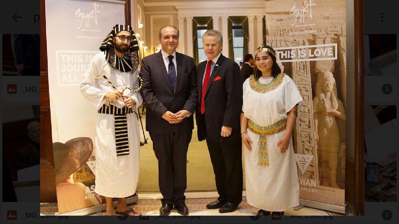 القنصلية المصرية تروج للسياحة في نيويورك (4)