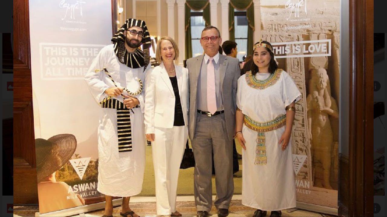 القنصلية المصرية تروج للسياحة فى نيويورك (6)