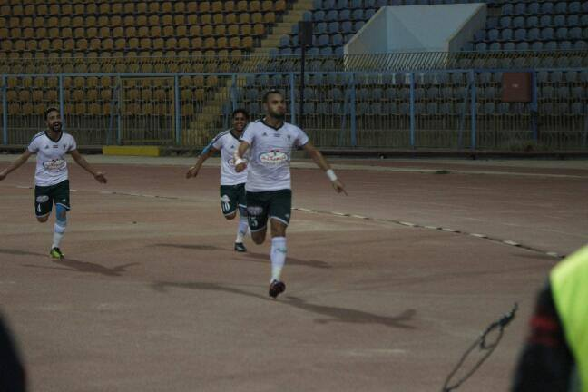 احمد جمعة سعيد بهدفه الأول فى كمبالا