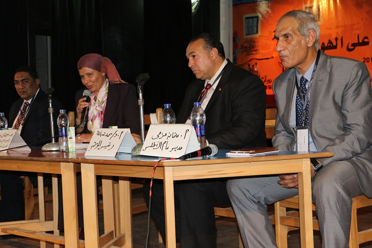 افتتاح مؤتمر إستلهام المأثور الشعبى والحفاظ علي الهوية (8)