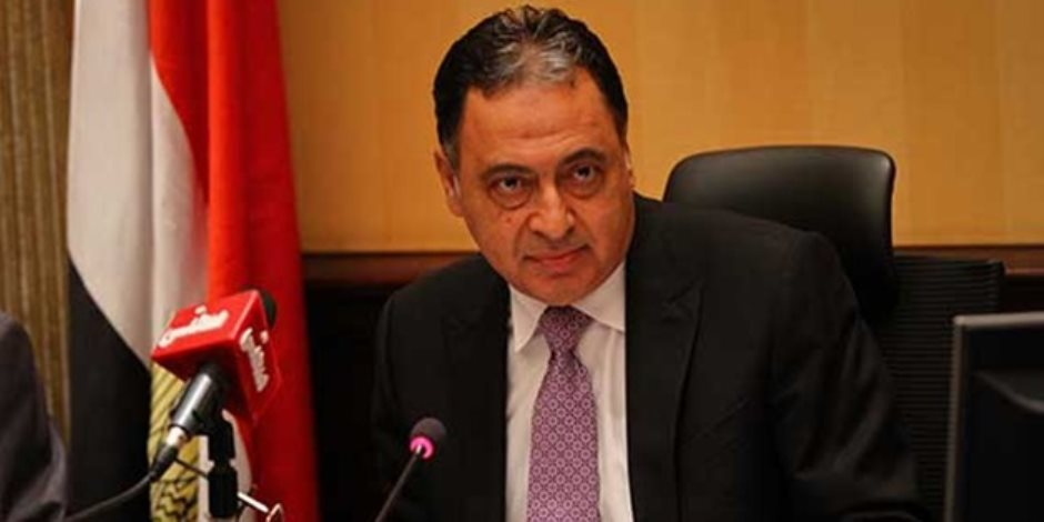 الدكتور احمد عماد وزير الصحة