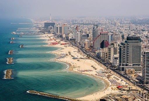 شاطئ مدينة تل ابيب