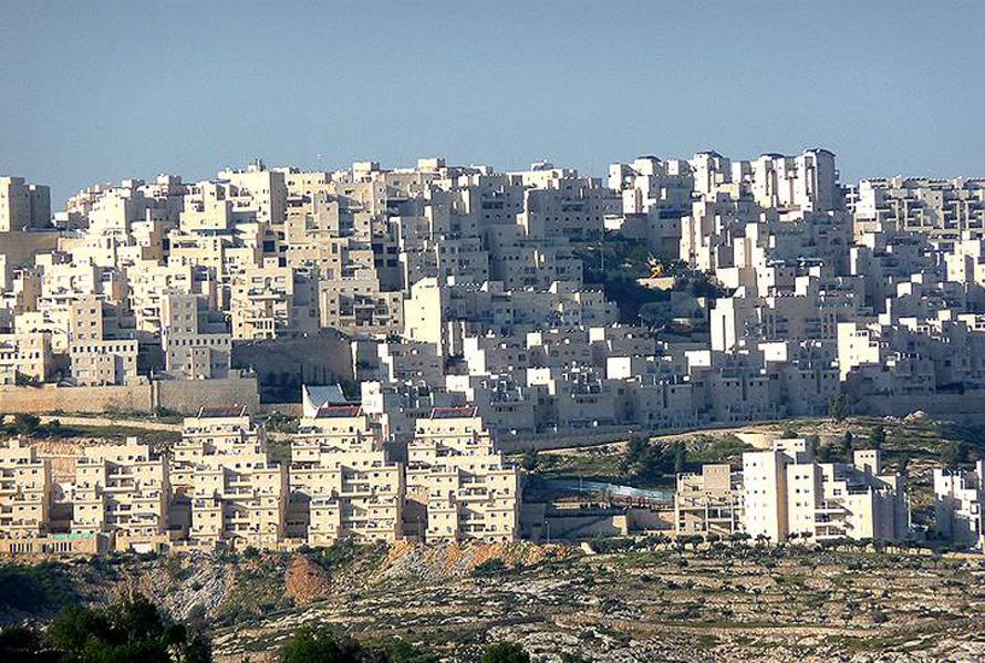 المستوطنات اليهودية علي الأراضي الفلسطينية
