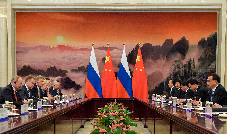 قمة صينية روسية