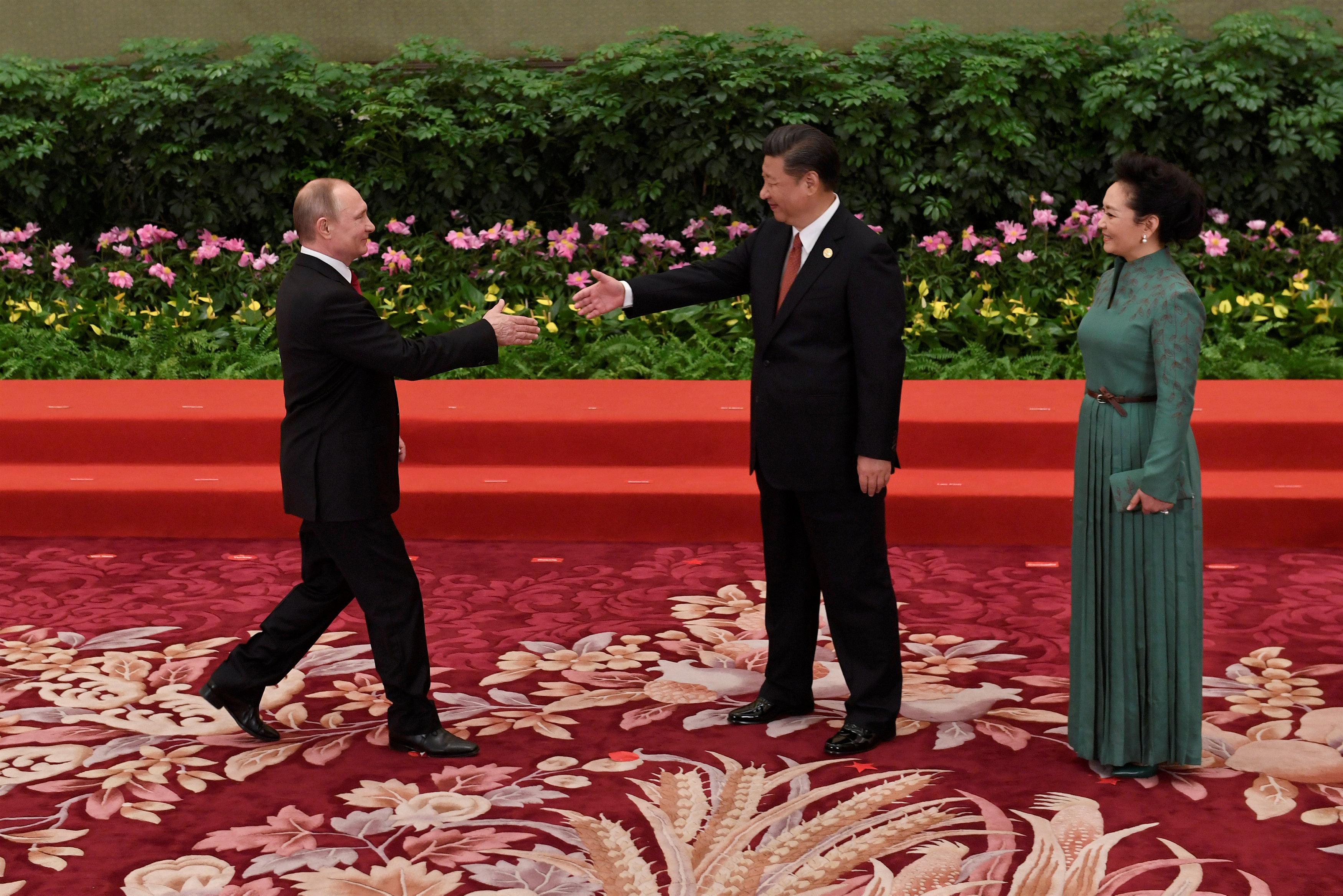 ترحيب صينى بالرئيس الروسى