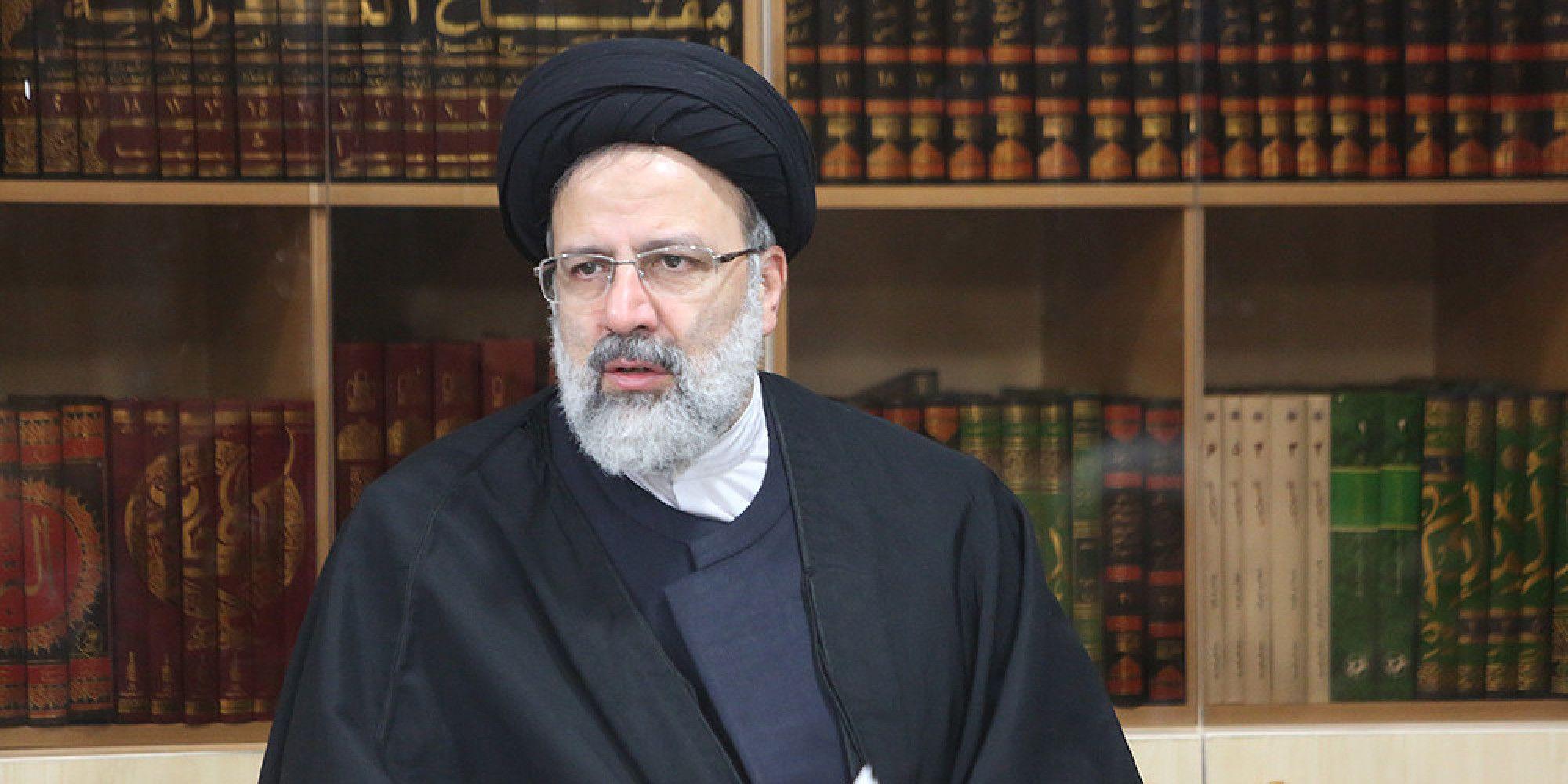 المرشح الرئاسي المحافظ إبراهيم رئيسي