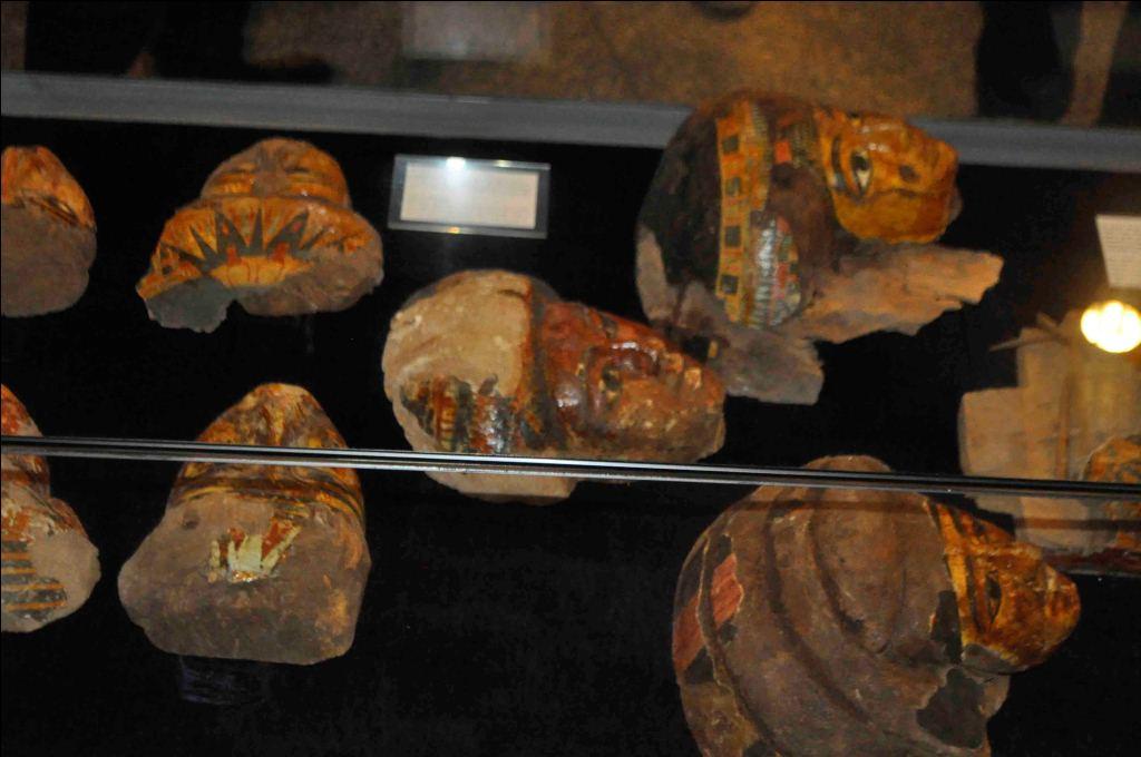 7- جانب من قطع معرض متحف الاقصر الاثرية