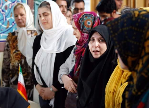 نساء ايران في الانتخابات