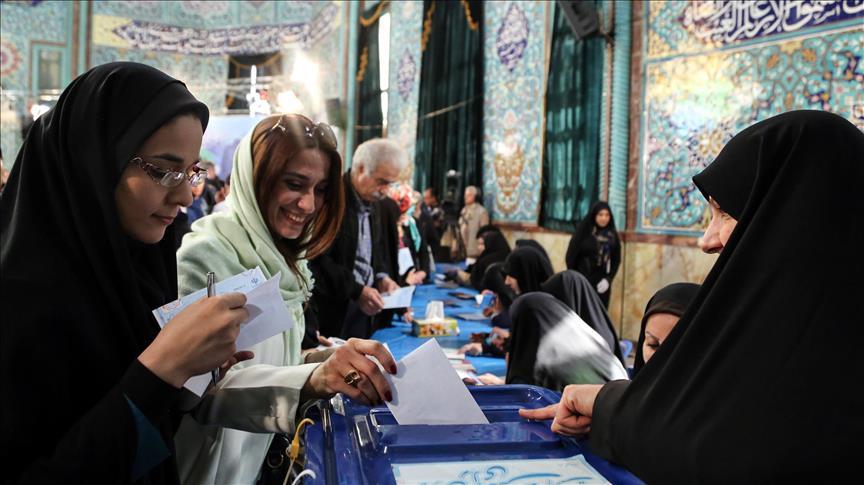 ناخبة ايرانية