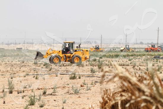 حملة إزالة التعديات على الأراضى بالجيزة (18)