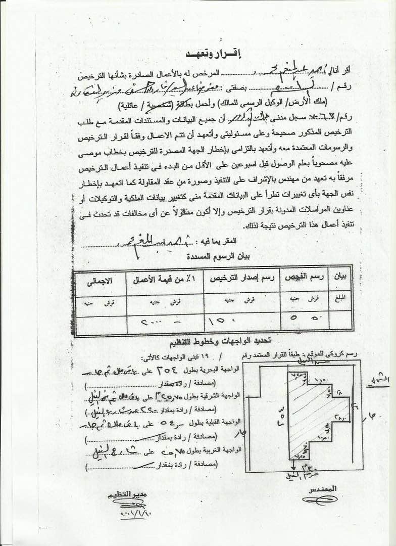 فاروق حسني يرد بالمستندات على إزالة فيلا البكباشي أو فيلا منيل شيحة (3)