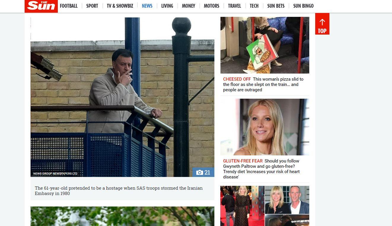 «حزم »تنتقد مطالبة صحيفة بريطانية بتسليم عميد الأسرى الأحوازيين إلى إيران (2)