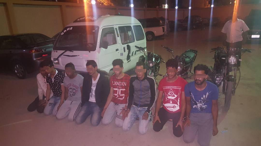 القبض على تشكيل عصابي تخصص في سرقة الدراجات البخارية في الإسماعيلية (2)