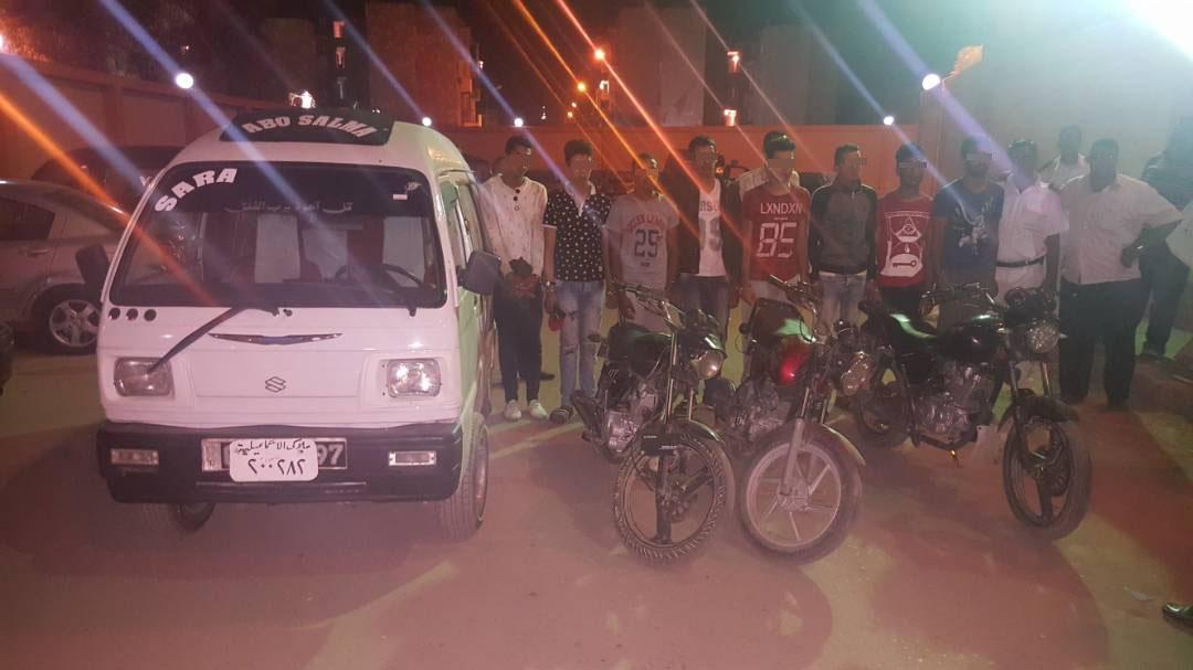 القبض على تشكيل عصابي تخصص في سرقة الدراجات البخارية في الإسماعيلية (3)